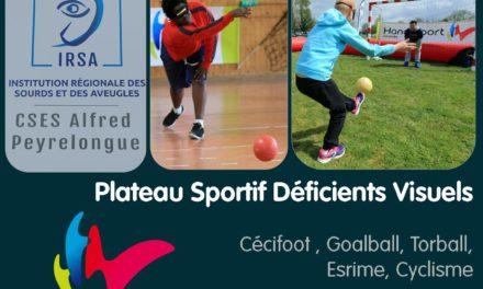 Plateau Sportif Déficients Visuels – Jeunes – 3 Mai 2017