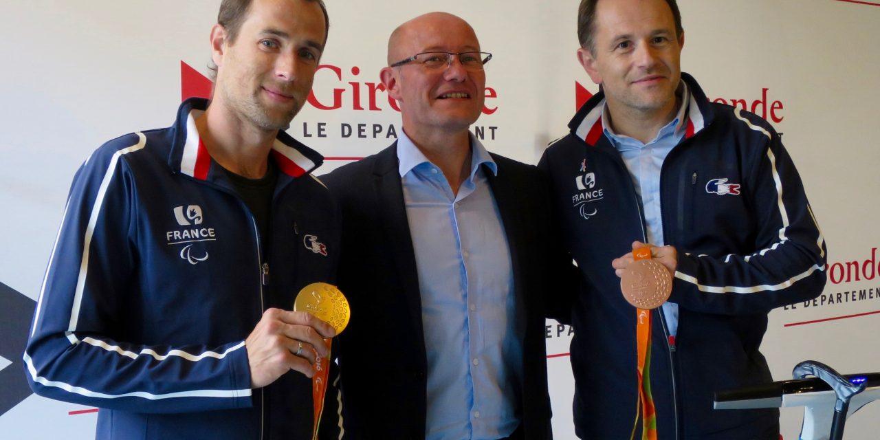 Le Conseil Départemental de la Gironde aux cotés des Athlètes Paralympiques!