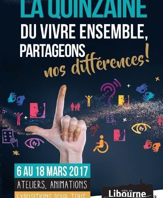 Journée du Vivre Ensemble – 8 Mars – Libourne