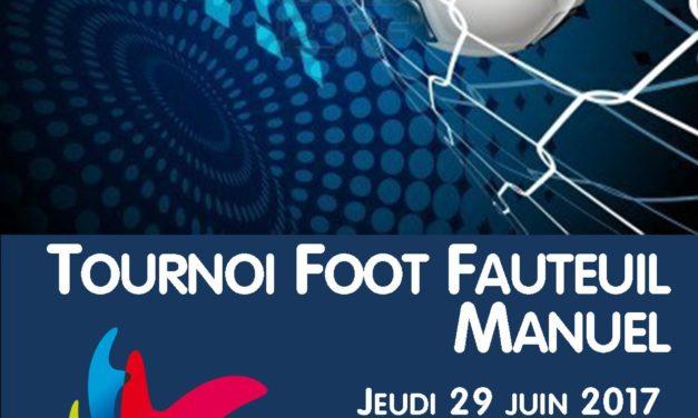 Tournoi Foot Fauteuil Manuel 2017