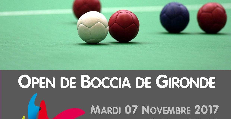 Open Départemental de Boccia 2017