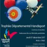 Trophée Départemental Centres & Adultes Décembre 2017