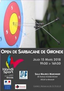 Open Départemental de Sarbacane @ Salle Maurice Maronnier | Le Bouscat | Nouvelle-Aquitaine | France