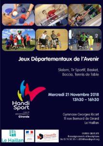 Jeux Départementaux de l'Avenir @ Gymnase Georges Ricart | Le Haillan | Nouvelle-Aquitaine | France