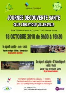 Journée Découverte Santé @ Stade Trigan  | Nouvelle-Aquitaine | France