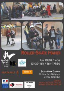 Roller Skate Handi @ Skate-Park Darwin | Bordeaux | Nouvelle-Aquitaine | France