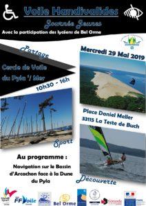 Voile Handivalides @ Cercle de Voile Pyla S/Mer | La Teste-de-Buch | Nouvelle-Aquitaine | France
