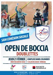 Open de Boccia Doublettes @ Complexe Daniel Colombier | Mérignac | Nouvelle-Aquitaine | France