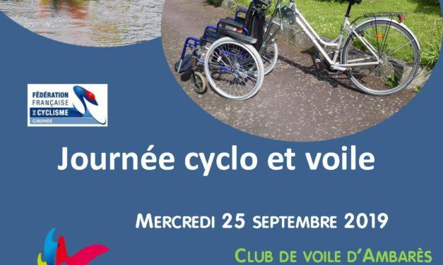 ANNULE ! Journée Cyclo Voile