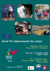 Grand Prix Départemental des Jeunes @ Gymnase Jules Ferry | Bordeaux | Nouvelle-Aquitaine | France