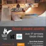 Glisse Urbaine Adaptée @ Skate Park Darwin | Bordeaux | Nouvelle-Aquitaine | France