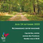 Reconnaissance Sentier Randonnée @ Cap de Bos | Pessac | Nouvelle-Aquitaine | France