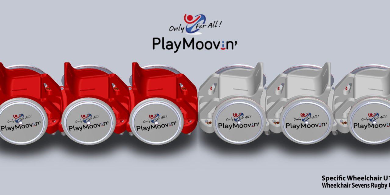 Fauteuils multisports PlayMoovin